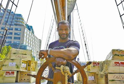 old spiceThe Old Spice Guy, Isaiah Mustafa, appeals to women, in more ways than one.