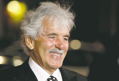 Former cop Dennis Farina played a detective on Law & Order.