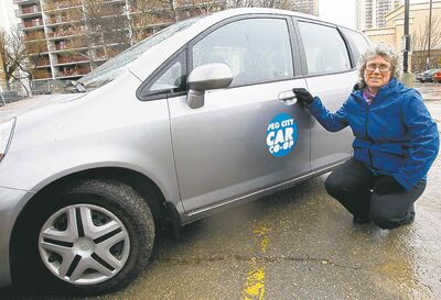 Beth McKechnie says there could be another surge in memberships as the co-op's fleet of cars increases.
