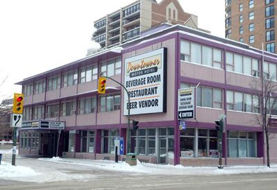 The owners of Winnipeg's India Palace have purchased the Downtowner Motor Hotel and plan to redevelop it as rental housing units for students.