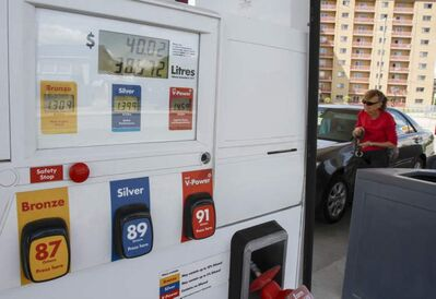 Gas prices have been on the rise in Manitoba -- and have been rising even more quickly than the national average. Prices for fresh fruit and vegetables are also up.