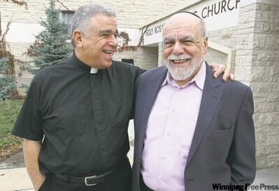 Winnipeggers Rev. Sam Argenziano and Rabbi Neal Rose are leading an interfaith spiritual and cultural trip to Italy and Israel.