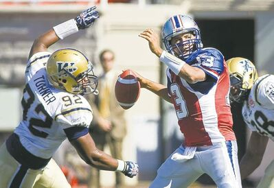 graham hughes / the canadian press archivesBlue Bombers� tackle Bryant Turner had five sacks in the first two weeks of 2012.