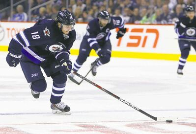 Bryan Little says the key to an effective power play is to keep it simple.