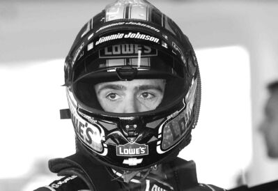 David Graham / the associated pressJimmie Johnson declined to fire back at former NFLer Donovan McNabb, who said NASCAR drivers don�t qualify as athletes.