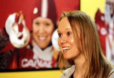 Cindy Klassen's five-medal haul from the Torino Winter Olympics lives on in an exhibit currently on display at the Manitoba Sports Hall of Fame.