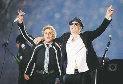 Mark J. Terrill / The Associated Press archivesRoger Daltrey (left) and Pete Townshend want to make up for some �shameful performances� of Quadrophenia in the 1970s.
