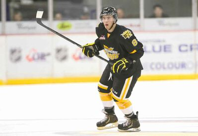 Brandon Wheat Kings blue-liner Jayce Hawryluk plays with a definite edge, which is just what Florida Panthers GM Dale Tallon wants.