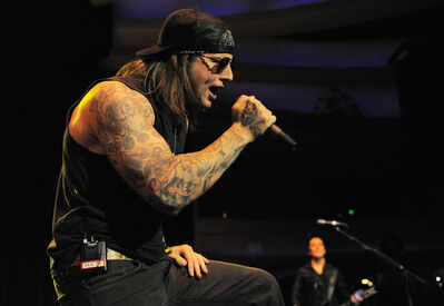 M. Shadows of Avenged Sevenfold.