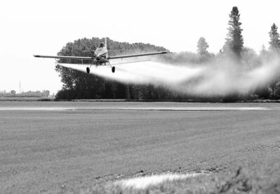 Brandon Sun archives The impact on Manitoba�s agricultural industry is calculated to have a value as high as $2.6 billion, just for losses from impediments to spraying.