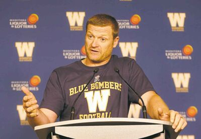 KEN GIGLIOTTI / WINNIPEG FREE PRESS FILESBlue Bombers head coach Mike O�Shea says given the same circumstances again, he would go for the field goal rather than try to keep the drive alive.