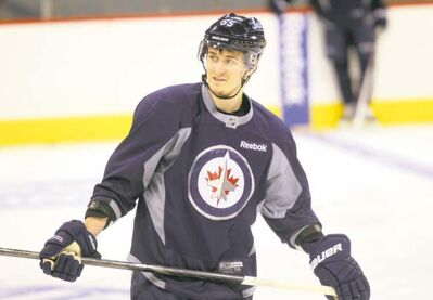ruth bonneville / winnipeg free pressStronger. Faster. Bigger. Better. Mark Scheifele�s second-go-round with the Jets holds much promise.