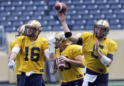 The success of the Blue Bombers depends on the arm of QB Drew Willy and his ability to stay vertical. The Hogs will be responsible for the latter.