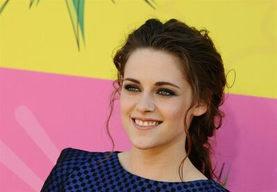 "In this March 23, 2013 file photo, actress Kristen Stewart arrives at the 26th annual Nickelodeon's Kids' Choice Awards, in Los Angeles. Stewart has signed on to play the lead in Drake Doremus' futuristic love story ""Equals,"" and it's making her a nervous wreck. ""I can't believe I agreed to do it,"" said the actress during a recent phone interview of the sci-fi drama, also starring ""X-Men: Days of Future Past"" star Nicholas Hoult. (Photo by Jordan Strauss/Invision/AP, File)"