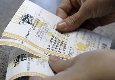 If youngsters are going to be like us, we've got to get them hooked on lottery tickets.