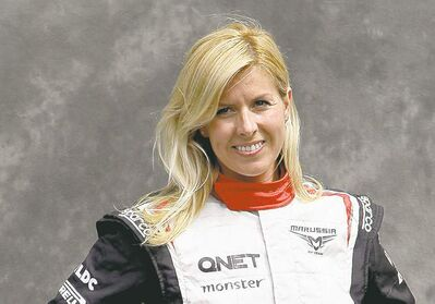 Rob Griffith / the associated press archivesMarussia test driver Maria de Villota has life-threatening injuries after her race car collided with a team support truck at an airfield in southern England on Tuesday.