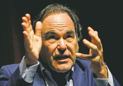 Oliver Stone describes U.S. media as 'a giant missile shield'