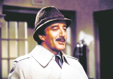 Actor Peter Sellers plays Inspector Clouseau in a Pink Panther movie in this undated handout photo. One of the greatest of Hollywood comedy icons is being honoured in a 40th anniversary six-disc DVD set being released this week. The Pink Panther Film Collection includes five of the famous Inspector Clouseau films although not, curiously, the third in the series, Return of the Pink Panther, which was not available due to rights problems.  (CP PHOTO/HO)