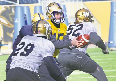 Bruised but unbowed, Max Hall is determined to show he's a starter in the CFL.