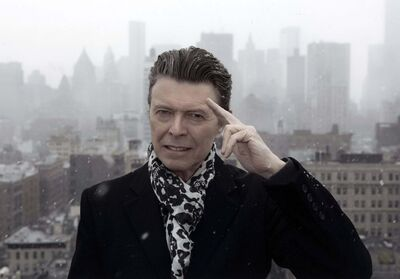Jimmy King / HBO</p><p>David Bowie released his final album, Blackstar, in 2016, two days before his death from liver cancer.</p></p>