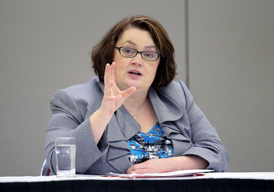 Finance Minister Jennifer Howard.