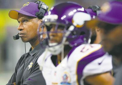 Minnesota Vikings head coach Leslie Frazier navigated two tumultuous seasons and now is one win away from making the playoffs.
