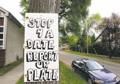Charles Street residents are trying to push sex trade workers out of their neighbourhood by threatening to post the licence plates of johns.