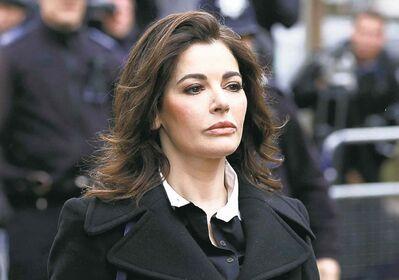 British chef Nigella Lawson was prevented from flying to Los Angeles
