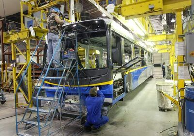 New Flyer announced revenue of $346.5 million on a 19 per cent increase in deliveries and a 57.1 per cent increase in aftermarket revenue.