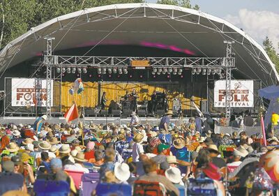 Winnipeg Folk Festival mainstage.