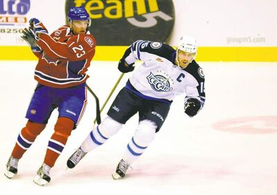 IceCaps captain Jason Jaffray has played only 16 of his team's 26 games due to injury.