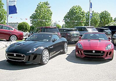 The first models of the 2014 F-Type have arrived at Jaguar Land Rover Volvo.