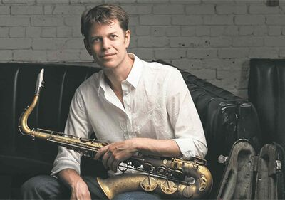 Supplied photoSaxophonist Donny McCaslin recently played The Nash and had high praise for the space.