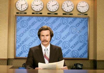 Ron Burgundy, played by Will Ferrell, will be a guest commentator during TSN's coverage of Roar of the Rings at MTS Centre.