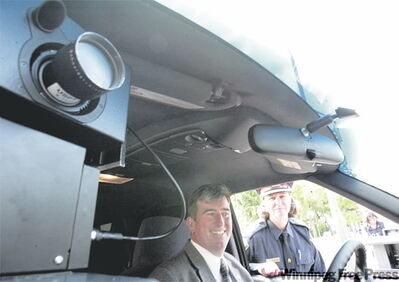 Former mayor Glen Murray pushed for photo radar and in 2001, the Doer government obliged.