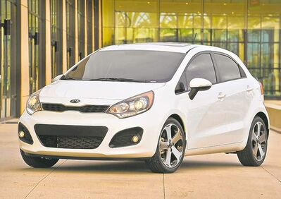The current Kia Rio is offered in both four- and five-door models.