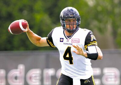 Snagging quarterback Zach Collaros keeps the Ticats on top in the East.