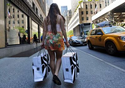 A survey by American Express found younger Canadians spend more on luxury travel and fashion.