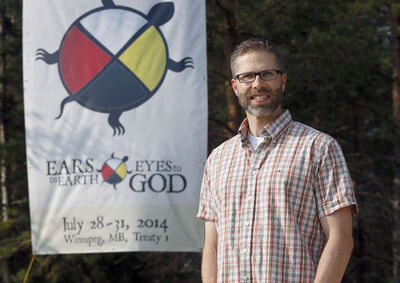Steve Heinrichs is organizing an assembly at CMU July 28-31 that will focus on ecology and spiritualism.