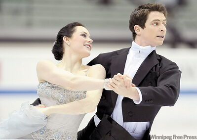Tessa Virtue and Scott Moir have lost no momentum after their gold in Vancouver.