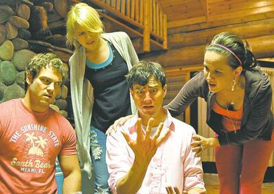 Handout photoFrom left, Shawn Roberts, Kristen Hager, Kristopher Turner and Crystal Lowe.