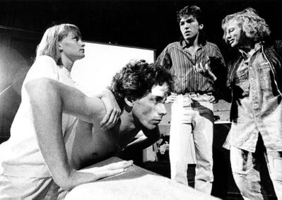 Steve McIntyre, front, played the titular reptile in Mind of the Iguana.