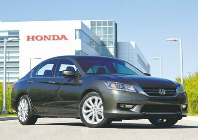 The new Accord competes against the redesigned Toyota Camry as well as new-generation cars like the Nissan Altima, VW Passat and Chevrolet Malibu.