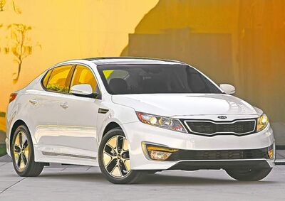 The Kia Optima Hybrid is one of six Kias for which owners will also be receiving reimbursement.
