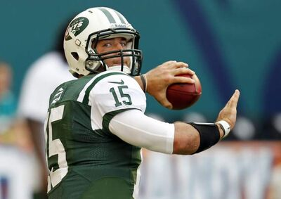 New York Jets No. 2 quarterback Tim Tebow is taking the latest Big Apple uproar in stride, saying he searches for the good in every situation.
