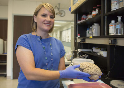 Emily Rogalski, a neuroscientist at Northwestern University's cognitive neurology and Alzheimer's disease center is the study leader in the research of a rare group of 'super agers.'