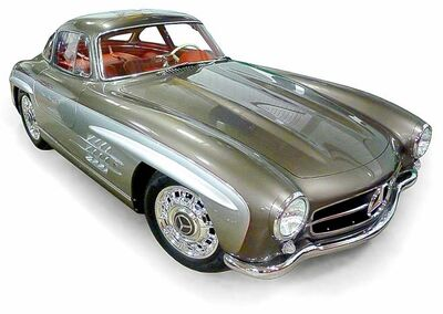 BASF Mercedes Gull Wing designed by Chip Foose.