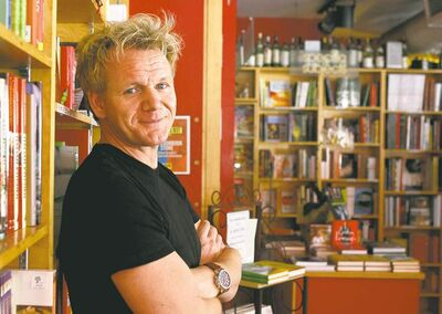 British celebrity chef Gordon Ramsay
