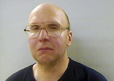 This April 2013 file booking photo provided by the Kennebec County Sheriff's Office in Augusta, Maine, shows Christopher Knight, arrested April 4 while stealing food from a camp in Rome, Maine.