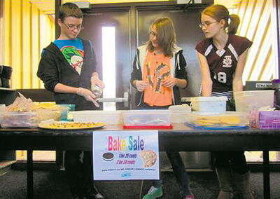 Students at Bothwell School in New Bothwell, Man., raised over $100 from holding bake sales to support We Create Change.